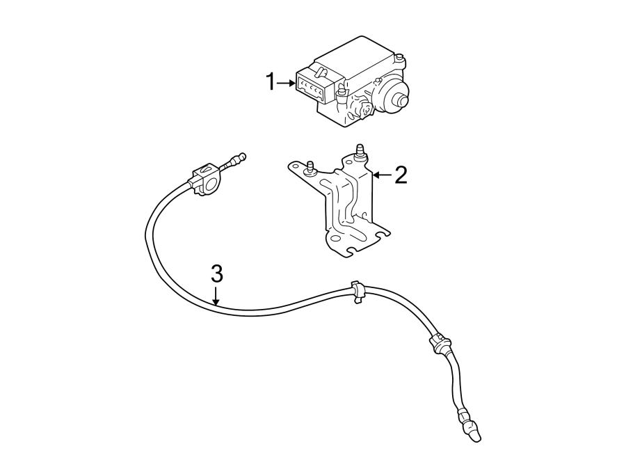 Ford Escape Cruise Control Cable. 3.0 liter. Escape