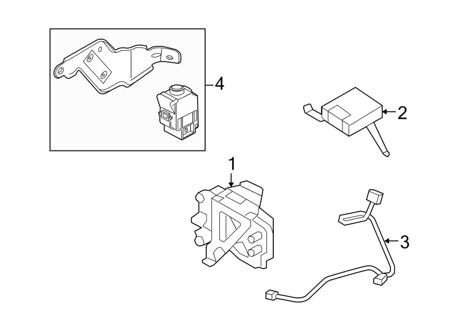 Mercury Mariner Inertia switch. Switch assembly. Dc power