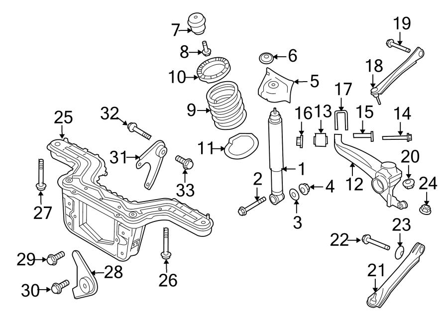 Mercury Mariner Alignment Camber Adjusting Eccentric