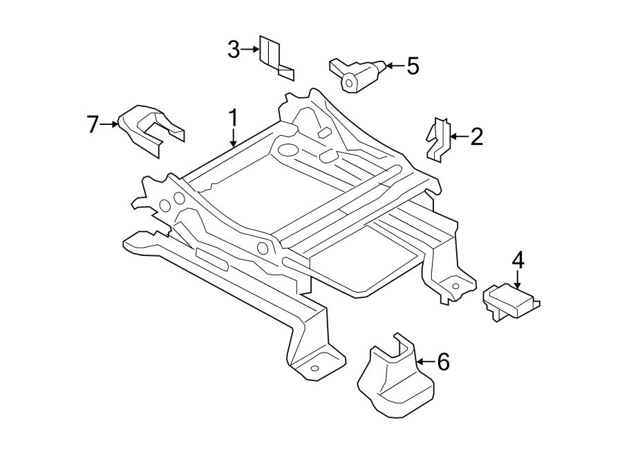 Ford Edge Air Bag Seat Sensor Mat. MANUAL, Make, PASSENGER