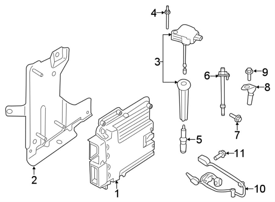 Ford Explorer Direct Ignition Coil. LITER, SYSTEM