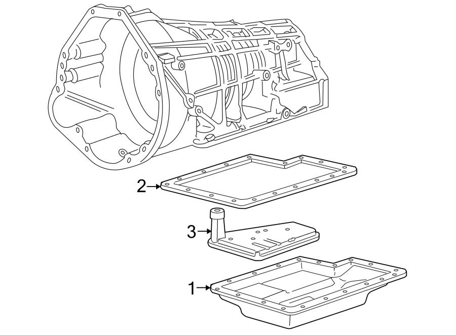 Lincoln Navigator Transmission Filter. LITER, AUTO
