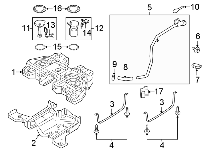 Ford Transit Connect Fuel Pump Driver Module. 2.0 LITER