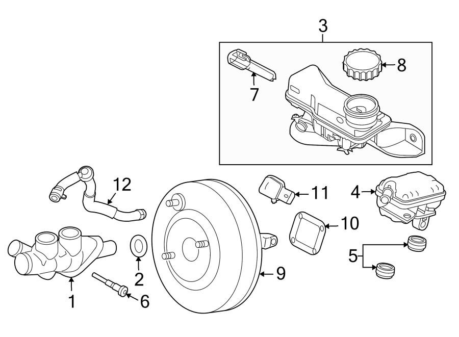 Mercury Milan Power Brake Booster. Booster. Brake