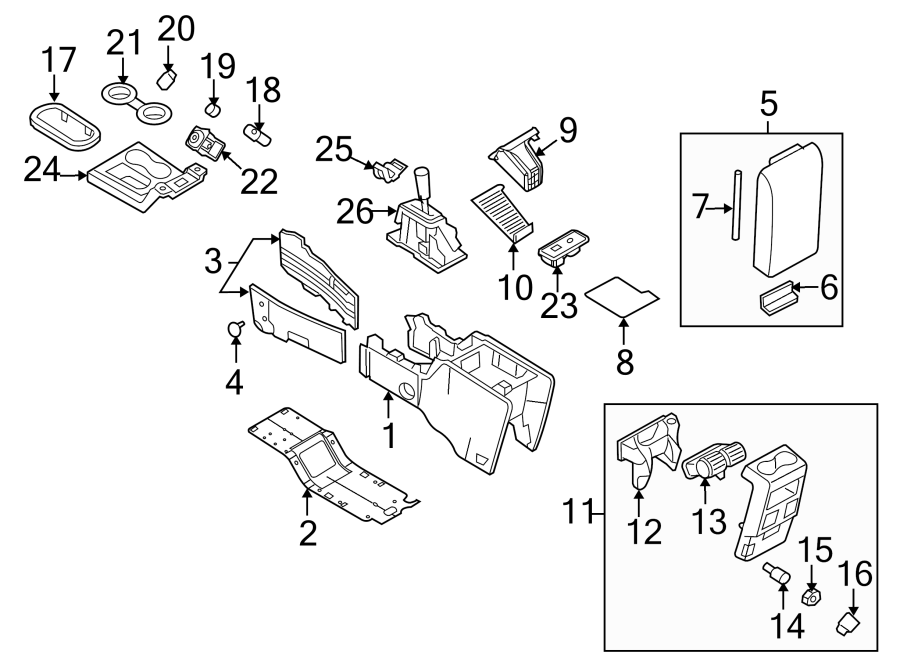 Mercury Mountaineer 12 volt accessory power outlet
