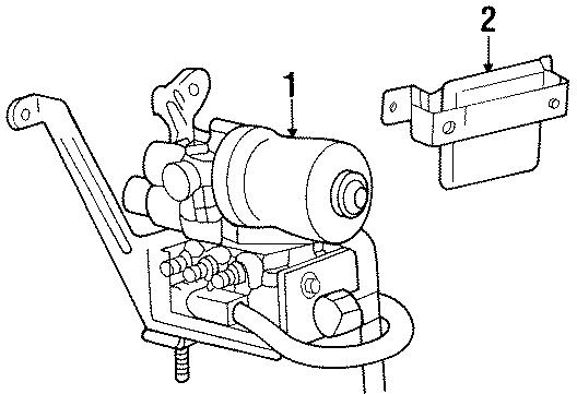 Ford Explorer Sport Trac Abs control module. Light, repair