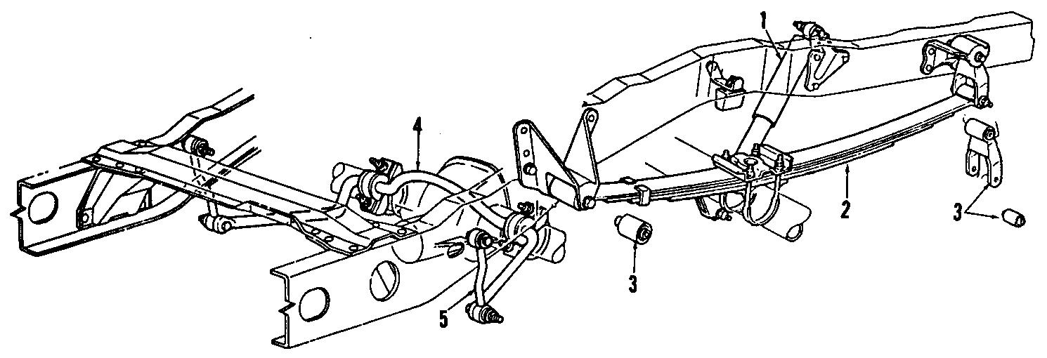 Ford Ranger Leaf Spring Bracket. Blackwood; Front. F150