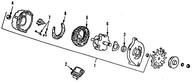 Ford F-250 Voltage Regulator. Amp, Models, External