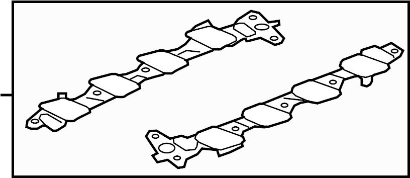Ford Explorer Engine Intake Manifold Gasket (Lower