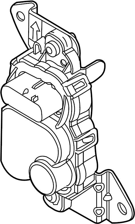 Lincoln Navigator Fuel Pump Driver Module. 5.4 LITER