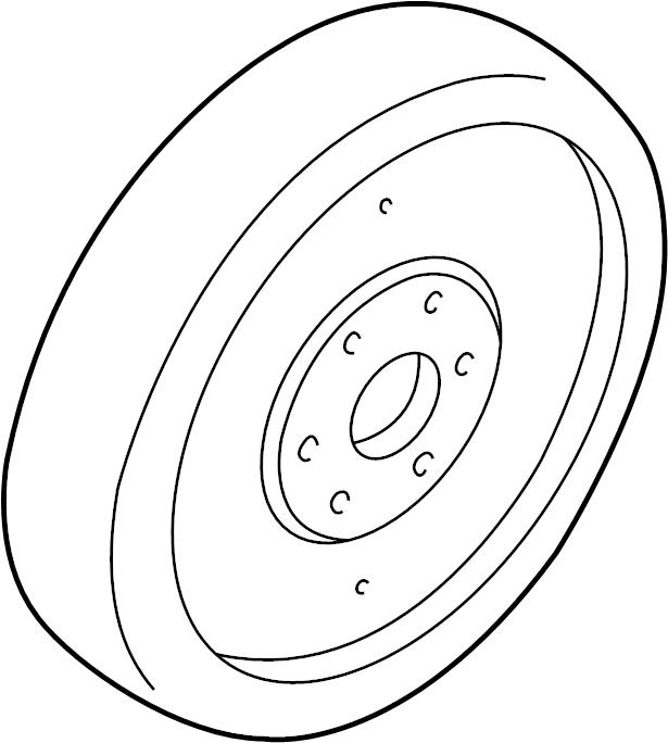 Ford Mustang Clutch Flywheel. MANUAL TRANS, 4.0 liter
