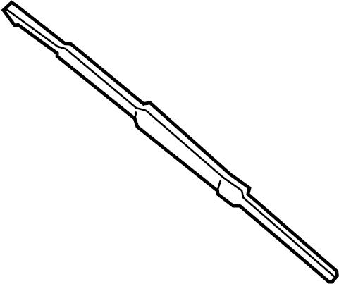 Mercury Mystique Windshield Wiper Blade (Front