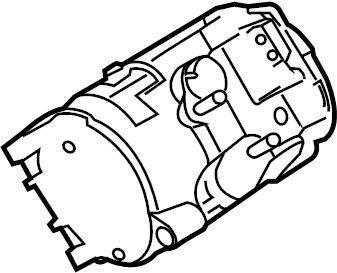 Ford Mustang A/c compressor. Repair, make, liter