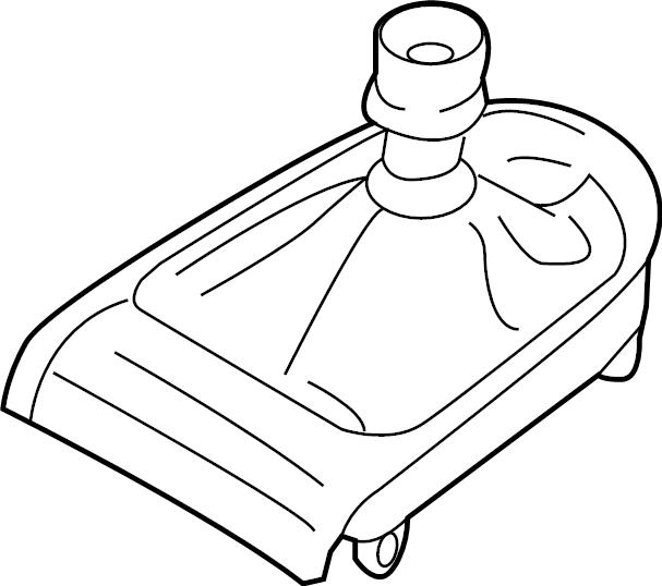 Ford Mustang Manual Transmission Shift Boot. MANUAL TRANS
