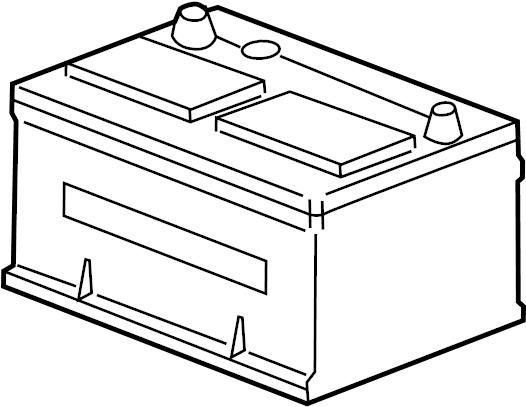 Mercury Sable Vehicle Battery. Amp, LITER, CYLINDER