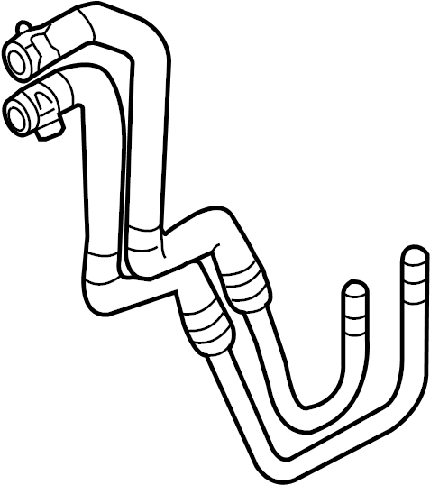 Mercury Sable Tube. Oil. Cooler. Transmission. Automatic