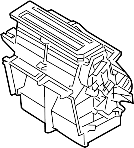 Mercury Sable Air. Duct. MANUAL AC. Manual temp cntrl. W/o