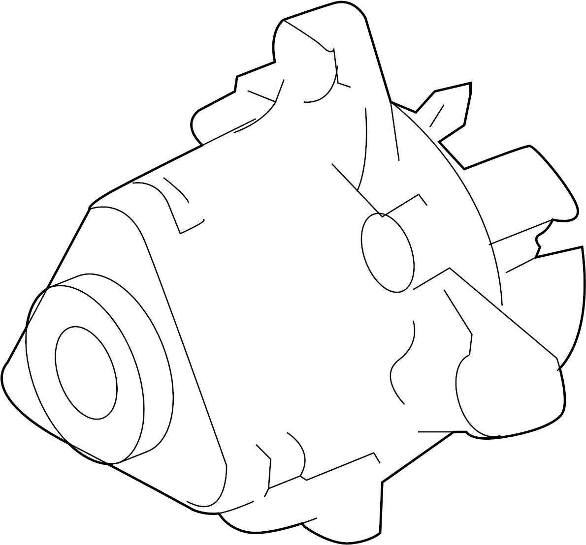 Mercury Milan Engine Water Pump. LITER, DOHC, Hybrid