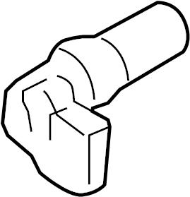 Ford Five Hundred Engine Crankshaft Position Sensor. LITER