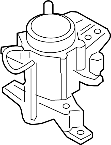 Lincoln Continental Engine Mount. 2.7 LITER. 3.0 LITER