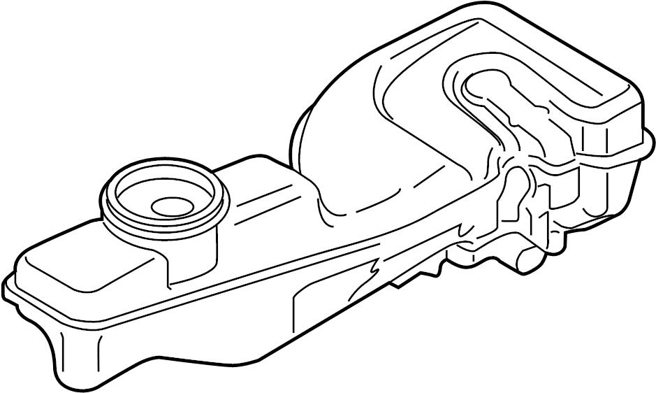 Ford Fusion Brake Master Cylinder Reservoir. LITER