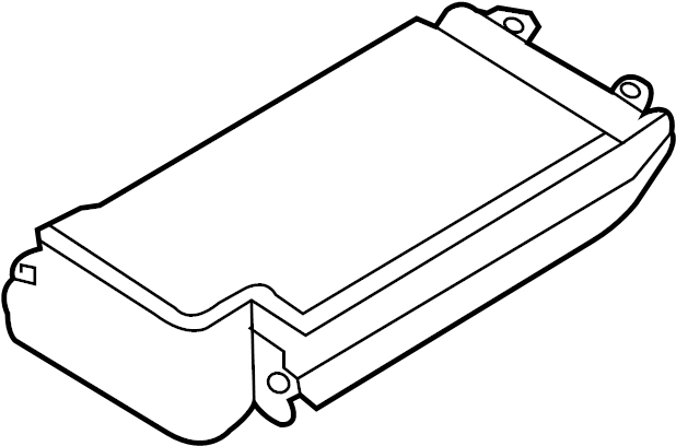 Ford Crown Victoria Fuse Box Cover (Upper). ENGINE
