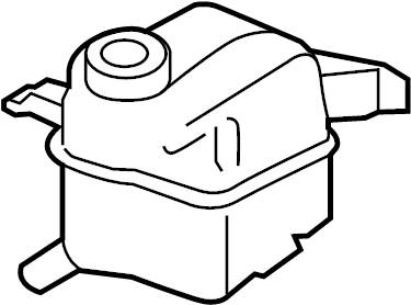 Ford Taurus Engine Coolant Reservoir. LITER, Tank, Cooling