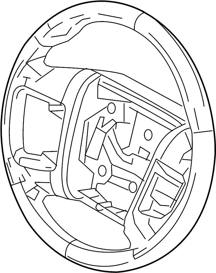 Lincoln MKS Steering Wheel. Adaptive, Cruise