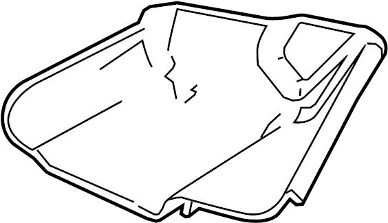Mercury Grand Marquis Shield. 2007-11, w/o police pkg