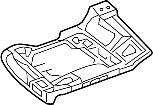 Mercury Grand Marquis Seat Frame. SPLIT BENCH, all. SPLIT