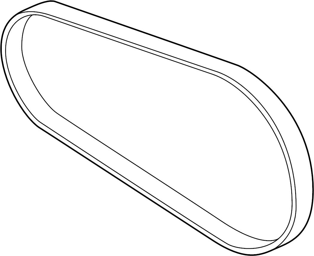 Ford F-150 Radiator Coolant Hose (Upper). 3.7 LITER. 5.0