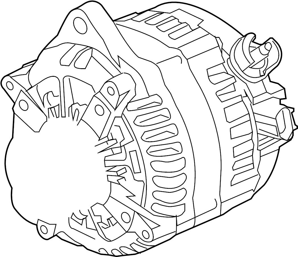 Ford F-150 Alternator. Battery, Converter, LITER