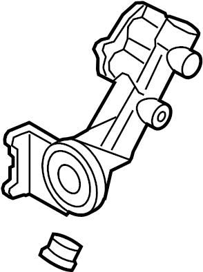Ford F-150 Engine Oil Filter Adapter. LITER, Coolant, Leak