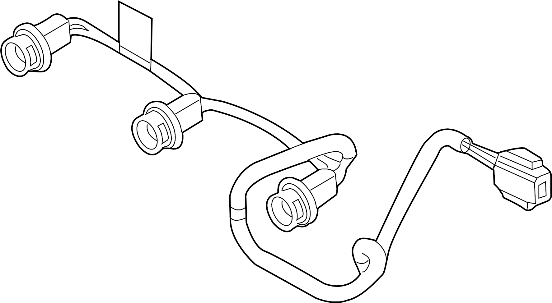 Ford F-150 Harness. Wire. Wiring. StyleSIDE. Connector