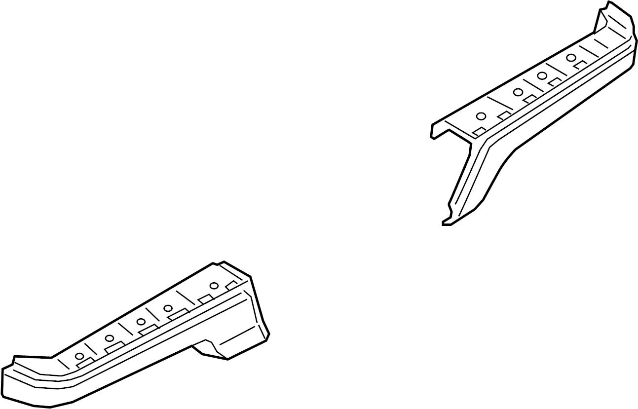 Ford F-150 Bumper Face Bar. Rear, COMPONENTS, Body