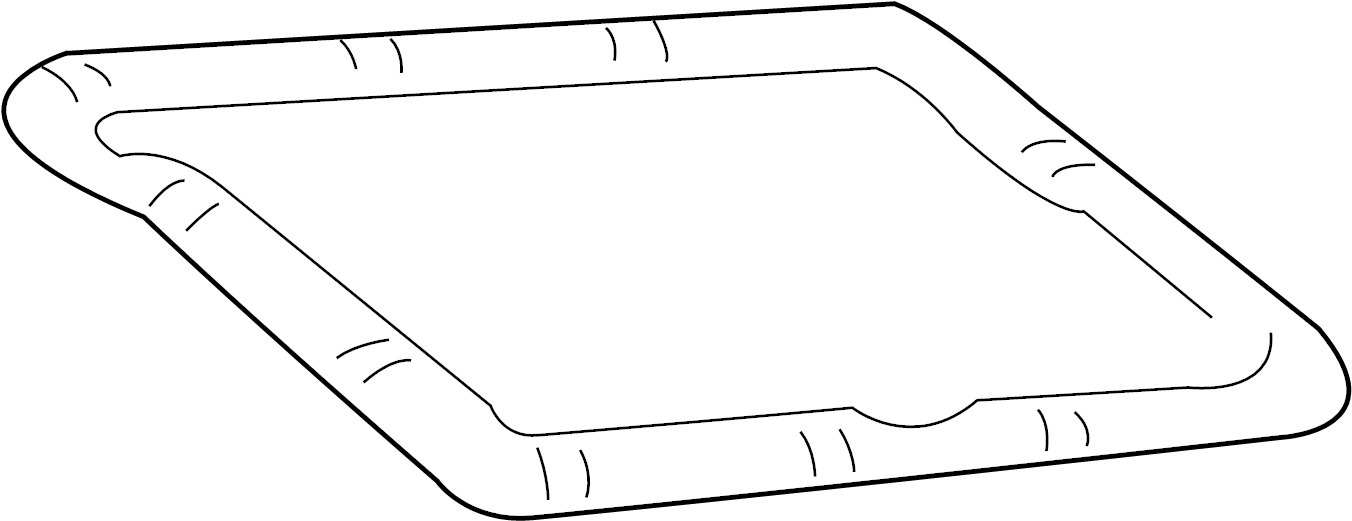 Ford E-350 Econoline Club Wagon Gasket. TRANSMISSION. Pan