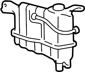 Ford F-150 Engine Coolant Reservoir. Cooling, LITER