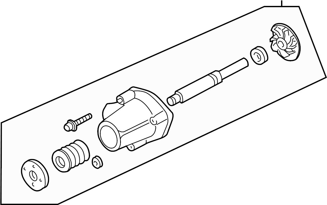 Ford Ranger Engine Water Pump. COOLING, LITER, Make