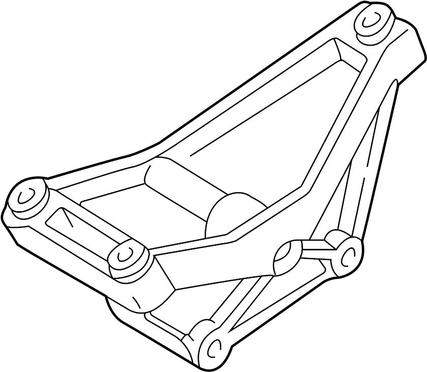 Ford Explorer Alternator Bracket. 4.0 LITER. 4.0L