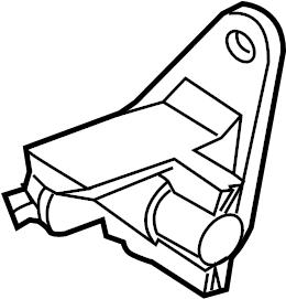 Mercury Mountaineer Engine Crankshaft Position Sensor
