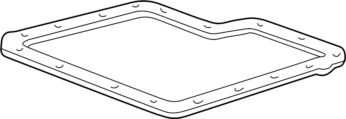 Ford Ranger Automatic Transmission Oil Pan Gasket. Gasket