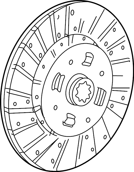 Ford Explorer Clutch. Disc. Assembly. Friction. Kit