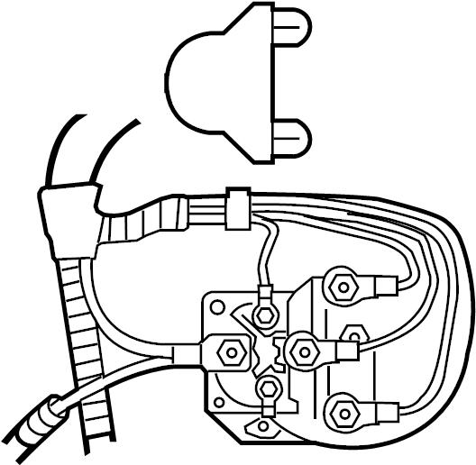 Ford F-250 Super Duty Accessory Power Relay. ENGINE