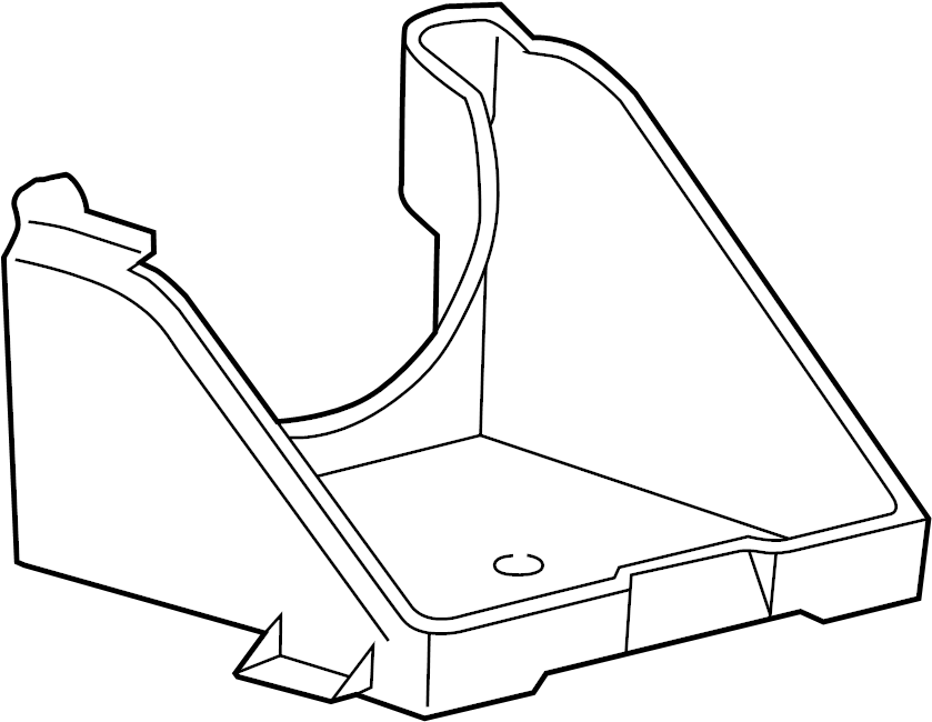 Ford F-550 Super Duty Battery Tray. Telematics, Lighting