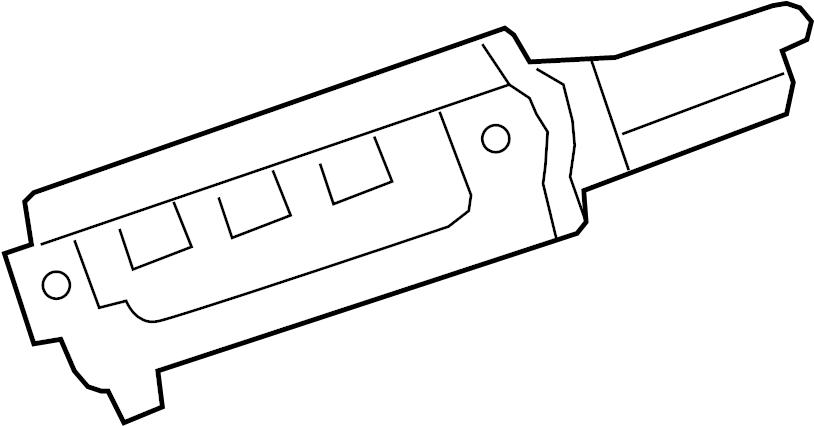 Ford F-250 Super Duty Engine Control Module. 5.4 liter. 7