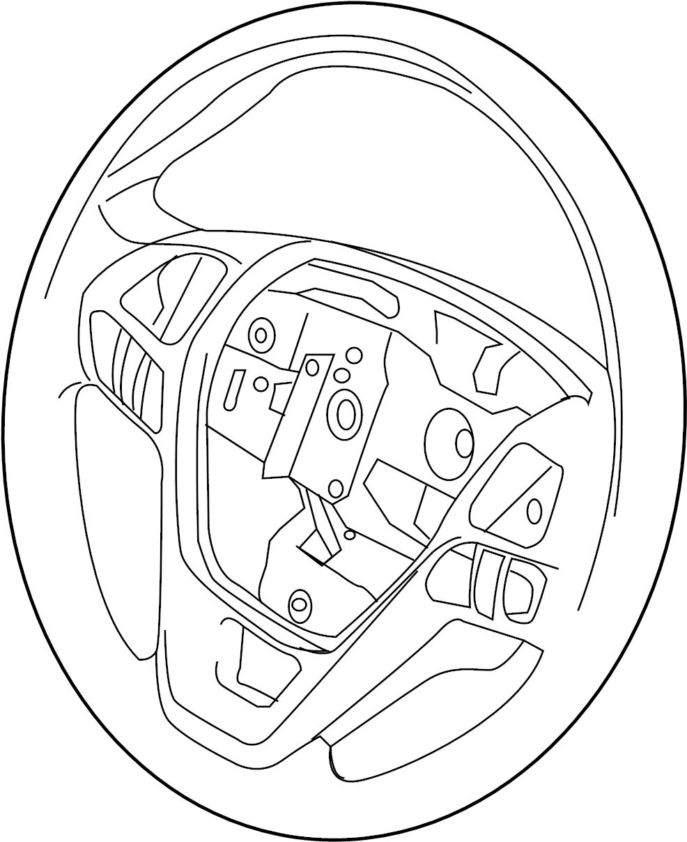 Ford Focus Steering Wheel. Shift, POLICE, Paddle
