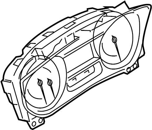 Ford Explorer Cluster ASSEMBLY. INSTRUMENT CLUSTER. High