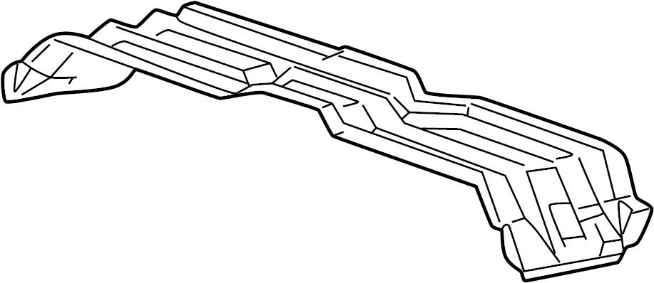 Ford F-450 Super Duty Floor Pan Crossmember (Front, Upper