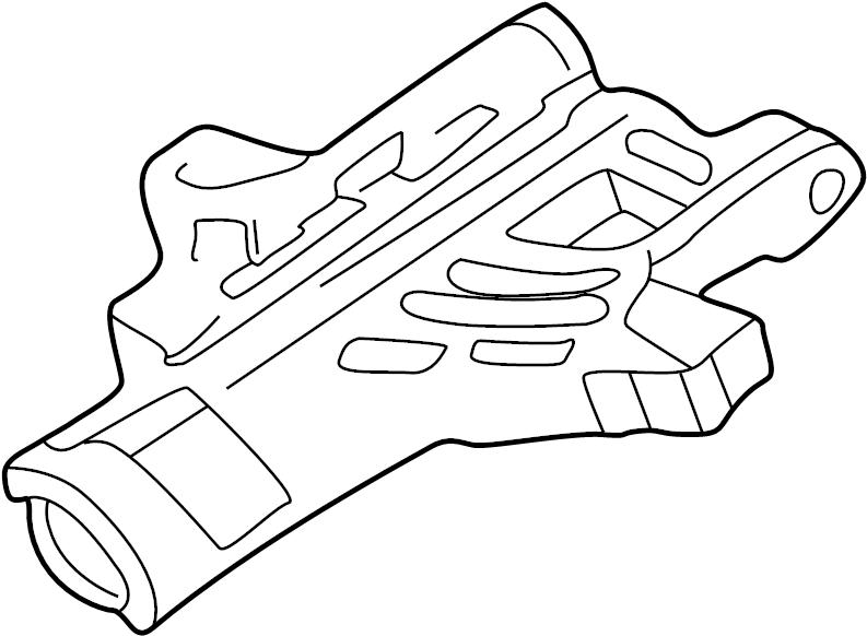 Ford E-250 Econoline Steering Column Tube. WHEEL, TILT