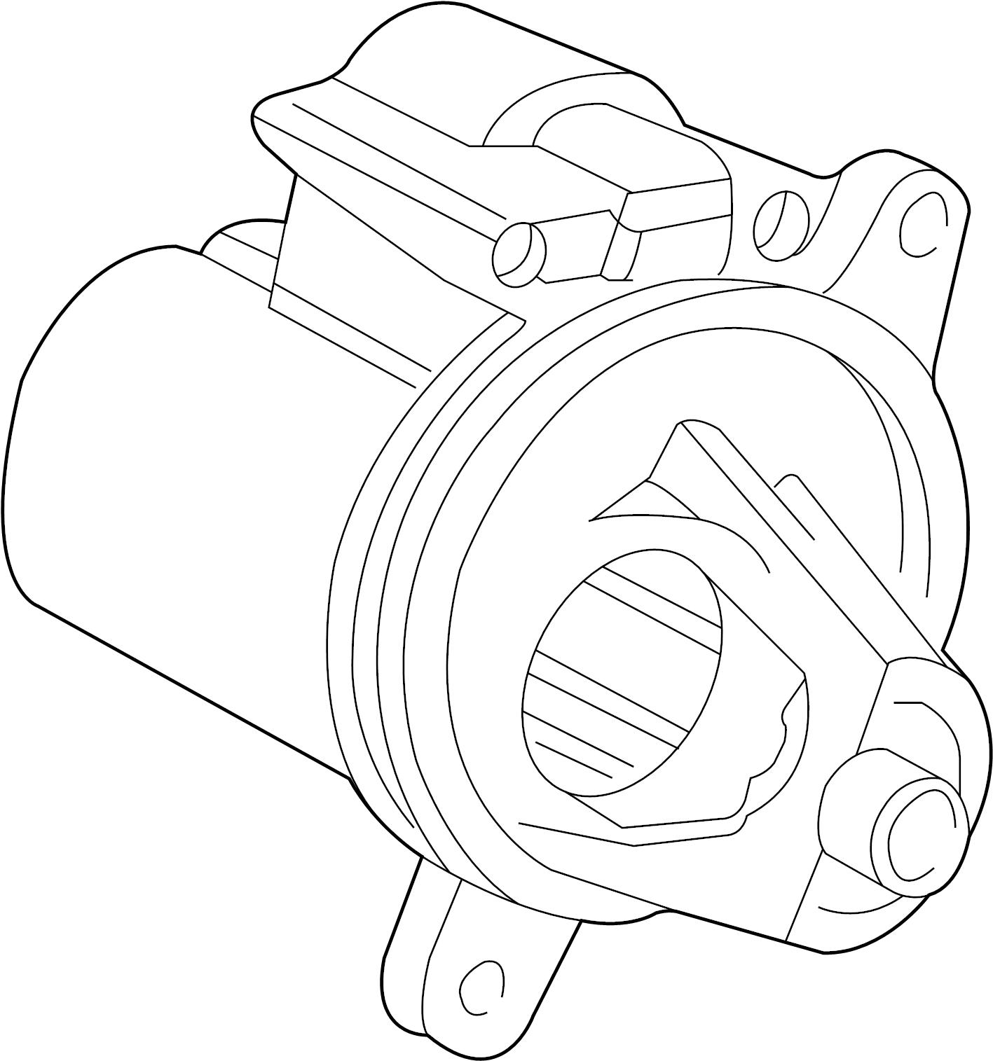 Ford Explorer Starter Motor. LITER, Trans, Auto